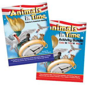 Animals in Time book and activity pages