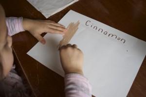 Letter C, lessons on senses for kids