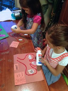 Animals in Time, Learning about ants, Christopher Columbus