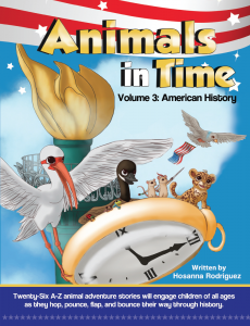 Animals in Time, Alex the Ant, history for children, Christopher Columbus