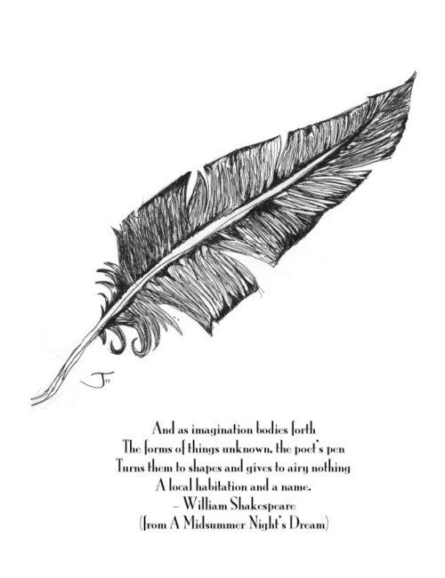 Feather-Shakespeare-print