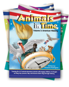 Animals in Time, History for kids