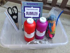 Bubble wand materials