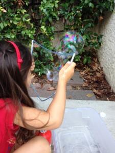 Bubble wand, step 6b