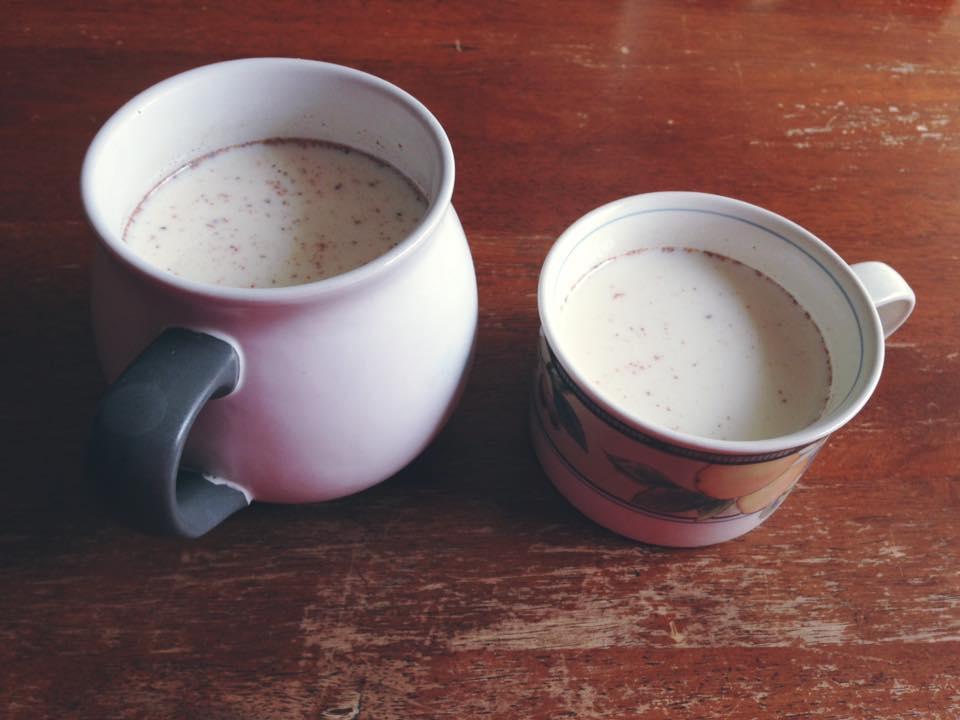 Vanilla nutmeg in Trader Joe's organic milk