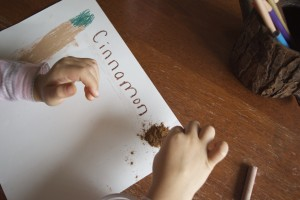 Letter C, lessons on senses for kids