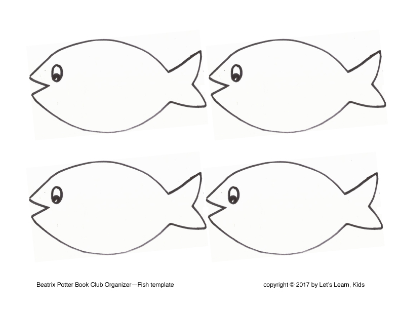 image about Printable Fish Templates titled No cost Templates Permits Understand Small children!